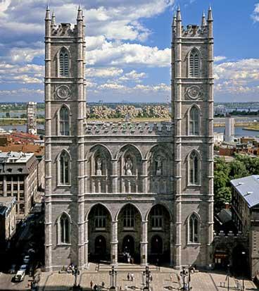 Histoire de l 39 architecture religieuse au qu bec le style for Architecture neo gothique