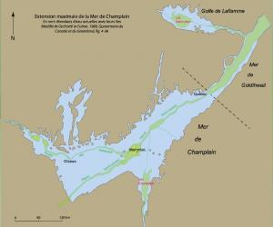 La plaine du Saint-Laurent avant l'arrivée des premiers Amérindiens (80 000 à 12 000 A.A.)